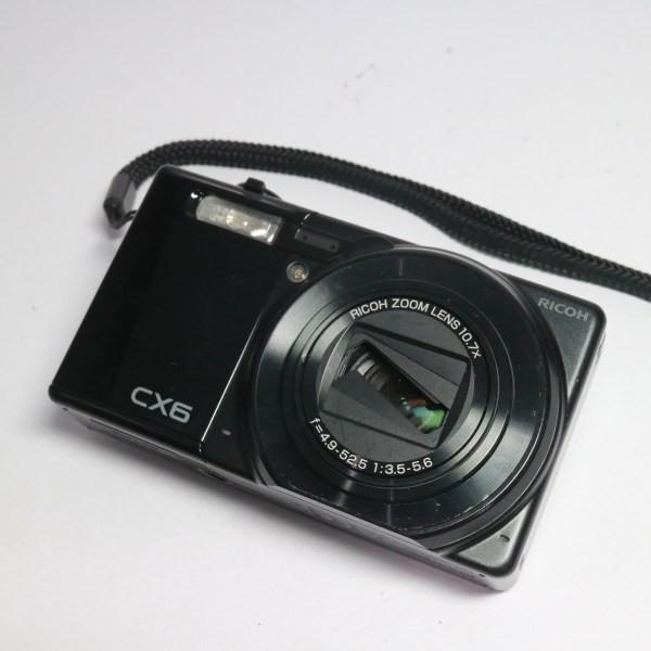 中古 CX6 ブラック 中古本体 安心保証 即日発送 デジカメ RICOH デジタルカメラ 本体