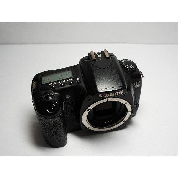 美品 EOS 20D ブラック ボディ 中古本体 安心保証 即日発送 デジ1 Canon デジタルカメラ 本体