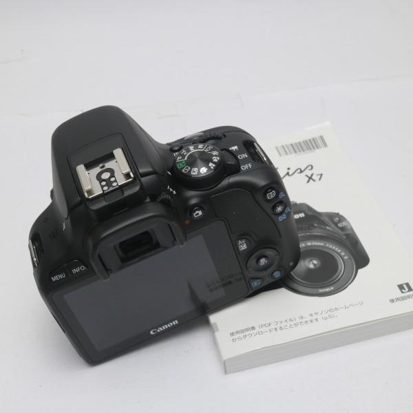 新品未使用 EOS Kiss X7 ダブルズームキット ブラック 安心保証 即日発送 一眼レフ Canon 本体