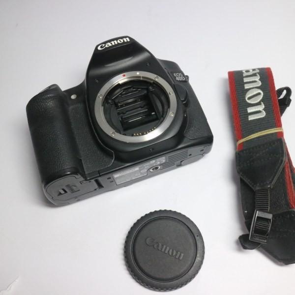 美品 EOS 40D ブラック ボディ 中古本体 安心保証 即日発送 デジ1 Canon デジタルカメラ 本体