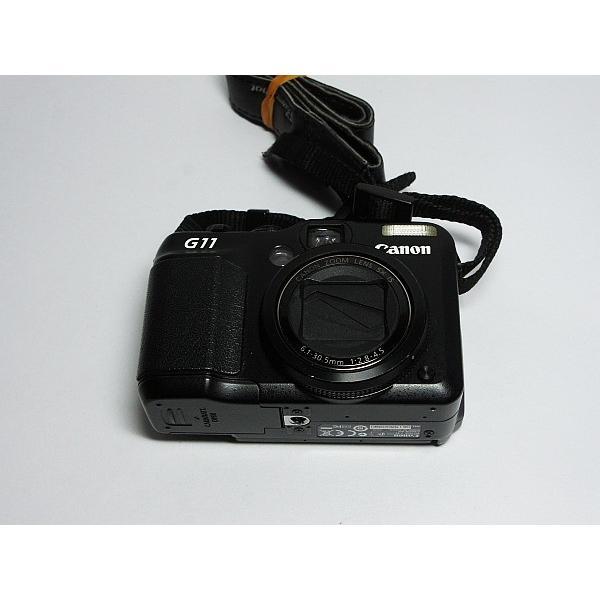 美品 PowerShot G11 ブラック 中古本体 安心保証 即日発送 Canon デジカメ デジタルカメラ 本体