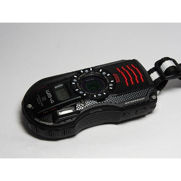 美品 WG-4 GPS ブラック 中古本体 安心保証 即日発送 デジカメ RICOH 本体