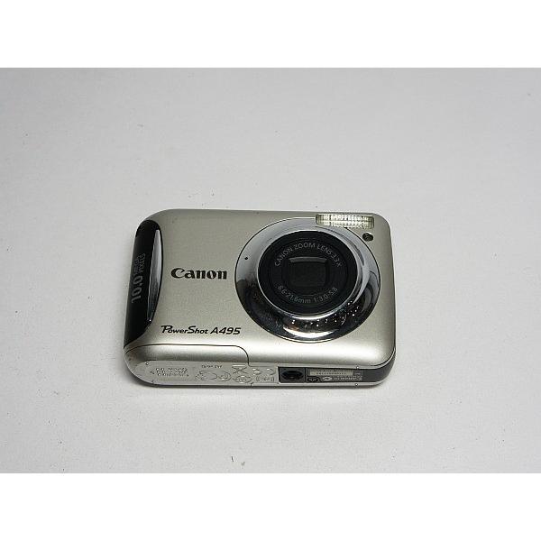 美品 PowerShot A495 シルバー 中古本体 安心保証 即日発送 Canon デジカメ デジタルカメラ 本体