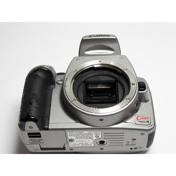 良品中古 EOS Kiss Digital N シルバー ボディ 中古本体 安心保証 即日発送 デジ1 Canon デジタルカメラ 本体