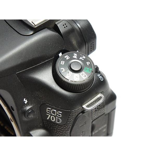超美品 EOS 70D ブラック 本体 安心保証 即日発送 デジタル一眼 Canon 本体