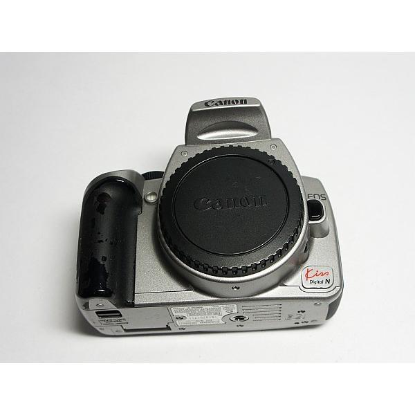 美品 EOS Kiss Digital N シルバー ボディ 中古本体 安心保証 即日発送 デジ1 Canon デジタルカメラ 本体