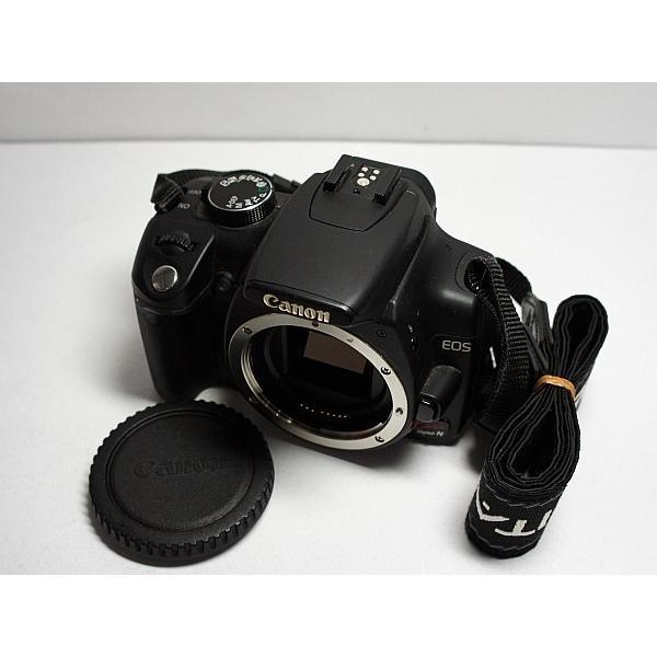 美品 EOS Kiss Digital N ブラック ボディ 中古本体 安心保証 即日発送 デジ1 Canon デジタルカメラ 本体