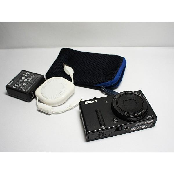 超美品 COOLPIX P330 ブラック 中古本体 安心保証 即日発送 デジカメ Nikon 本体