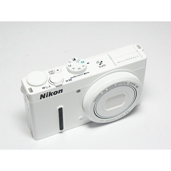 美品 COOLPIX P330 ホワイト 中古本体 安心保証 即日発送 デジカメ Nikon 本体