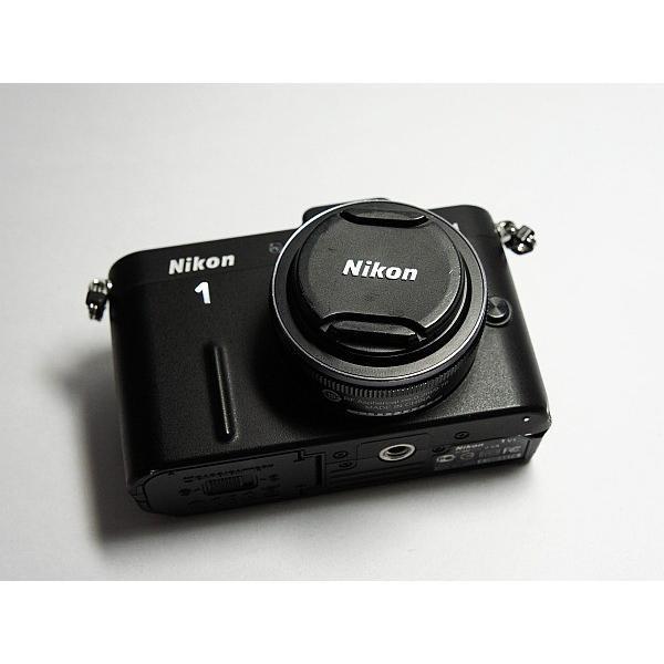 超美品 Nikon 1 V1 薄型レンズキット ブラック 中古本体 安心保証 即日発送 ミラーレス一眼 ニコン 本体