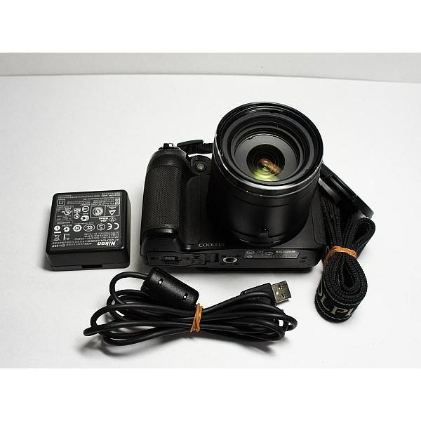 美品 COOLPIX P510 ブラック 中古本体 安心保証 即日発送 デジカメ Nikon デジタルカメラ 本体