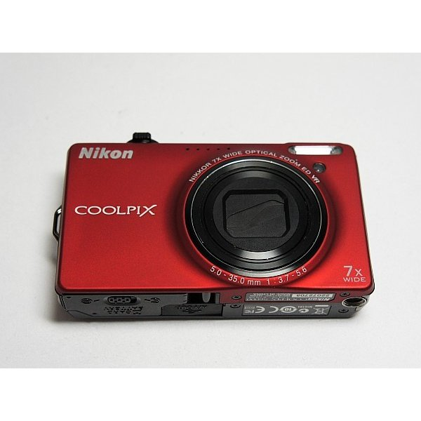 超美品 COOLPIX S6000 フラッシュレッド 中古本体 安心保証 即日発送 Nikon デジカメ デジタルカメラ 本体