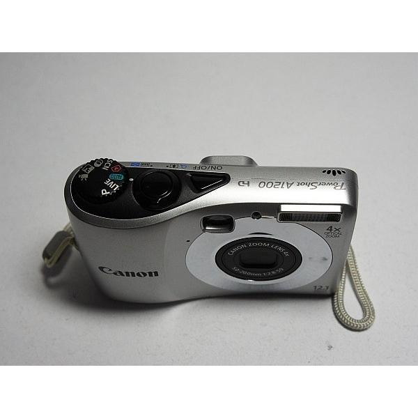 超美品 PowerShot A1200 シルバー 中古本体 安心保証 即日発送 Canon デジカメ デジタルカメラ 本体