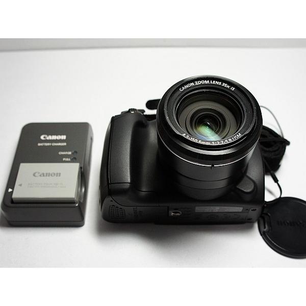 超美品 PowerShot SX30 IS ブラック 中古本体 安心保証 即日発送 Canon デジカメ デジタルカメラ 本体