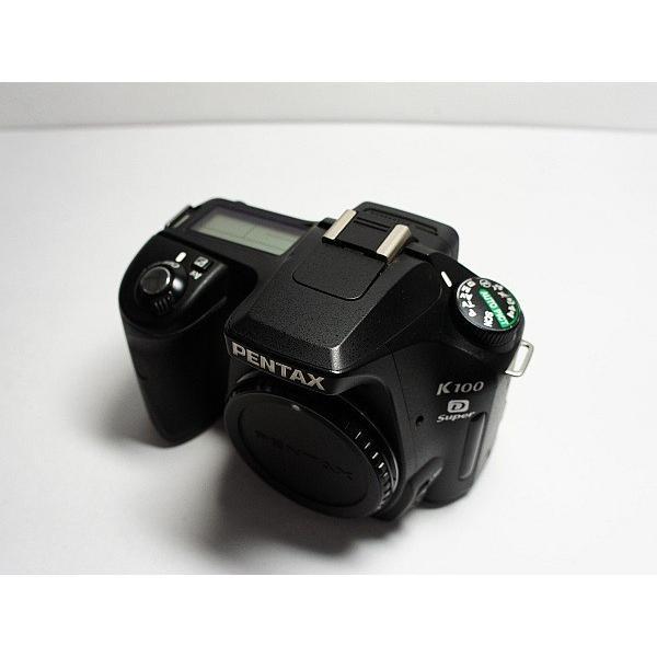 超美品 PENTAX K100D Super ブラック 中古本体 安心保証 即日発送 PENTAX デジタル一眼 本体