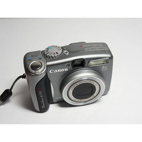 美品 PowerShot A710 IS シルバー 中古本体 安心保証 即日発送 Canon デジカメ デジタルカメラ 本体