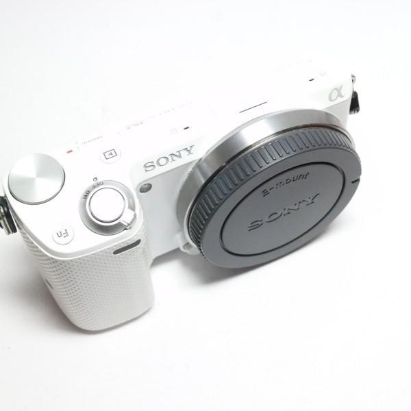 美品 NEX-5T ホワイト 本体 安心保証 即日発送 ミラーレス一眼 SONY 本体