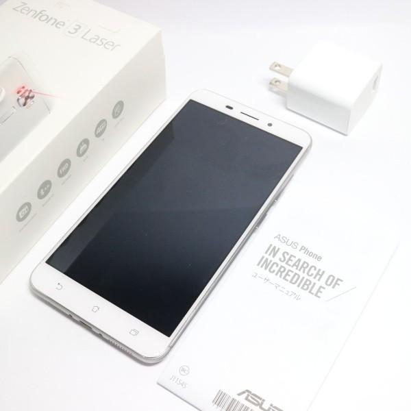 ZenFone 3 Laser 32GB シルバー SIMフリーの画像