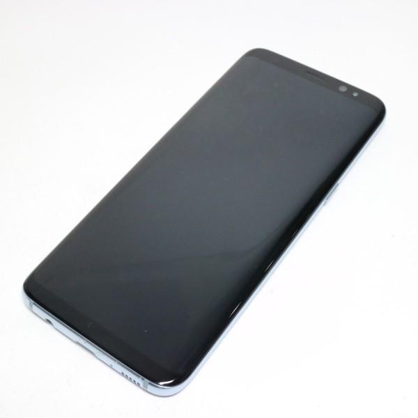 美品 SC-02J Galaxy S8 ブルー 中古本体 安心保証 即日発送 スマホ SAMSUNG docomo 本体 白ロム|eco-sty