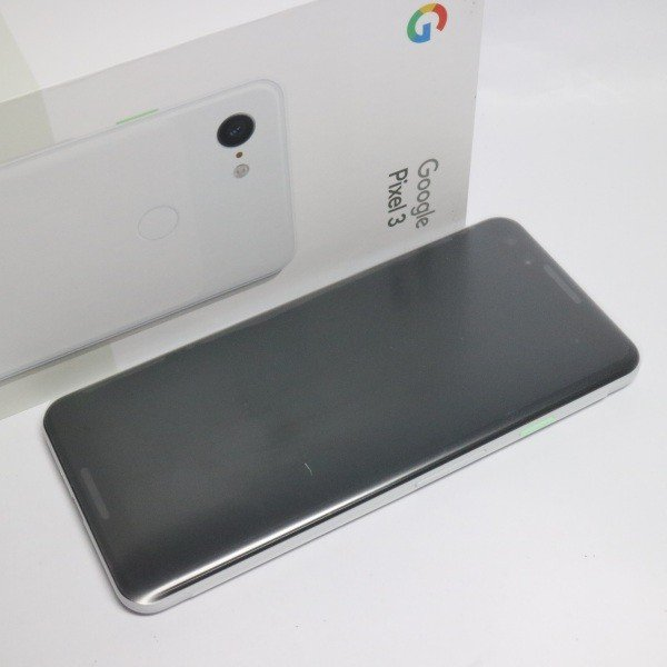 Pixel 3 64GB クリアリーホワイト SIMフリーの画像