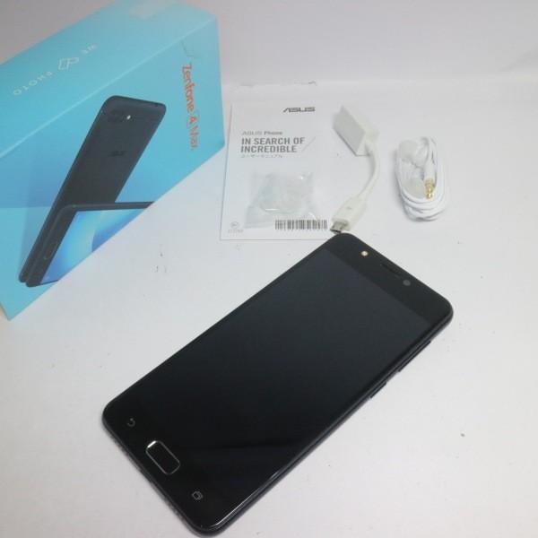 ZenFone 4 Max ZC520KL 32GB ネイビーブラック SIMフリーの画像