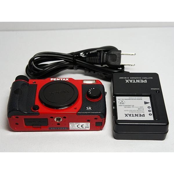 美品 PENTAX Q10 レッド ボディ 中古本体 安心保証 即日発送 デジ1 PENTAX デジタルカメラ 本体