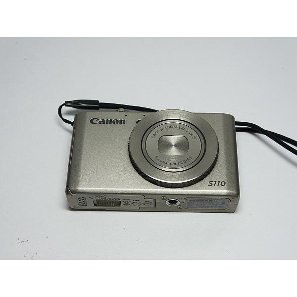 美品 PowerShot S110 シルバー 中古本体 安心保証 即日発送 デジカメ Canon デジタルカメラ 本体