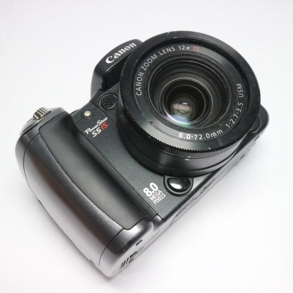 美品 PowerShot S5 IS ブラック 中古本体 安心保証 即日発送 Canon デジカメ デジタルカメラ 本体