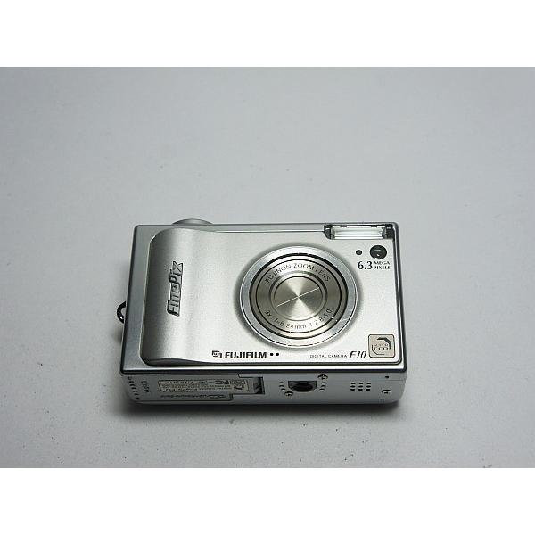 美品 FinePix F10 シルバー 中古本体 安心保証 即日発送 FUJIFILM デジカメ デジタルカメラ 本体