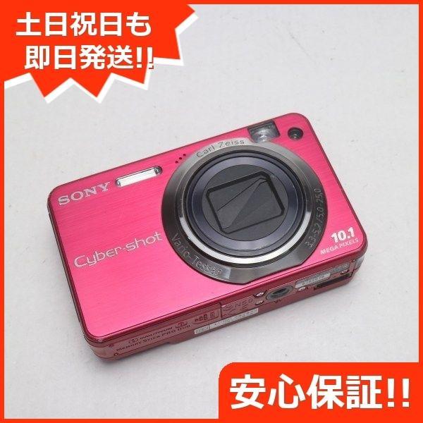 中古 Cyber-shot DSC-W170 レッド 中古本体 即日発送 SONY デジカメ デジタルカメラ 本体