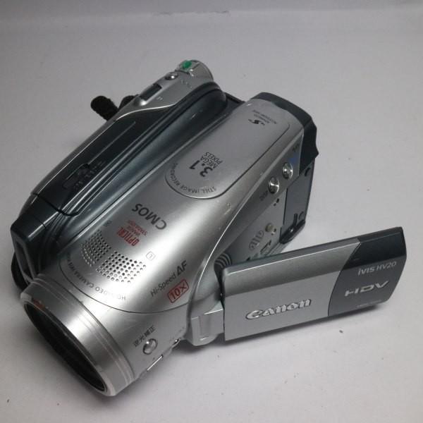 美品 iVIS HV20 シルバー 本体 安心保証 即日発送 Canon デジタルビデオカメラ 本体