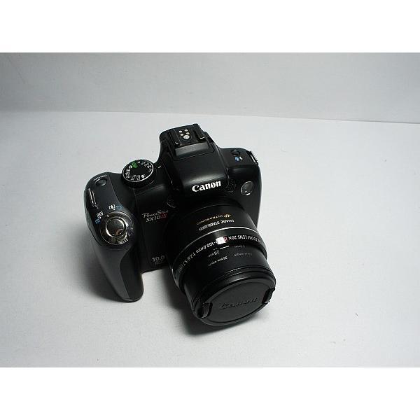 美品 PowerShot SX10 IS ブラック 中古本体 安心保証 即日発送 Canon デジカメ デジタルカメラ 本体