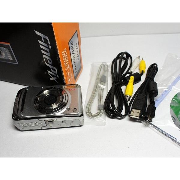 新品同様 FinePix A800 シルバー 中古本体 安心保証 即日発送 FUJIFILM デジカメ デジタルカメラ 本体