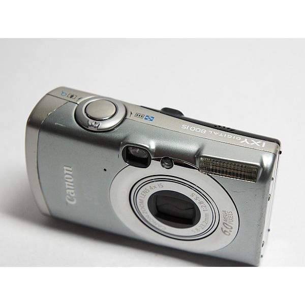 美品 IXY DIGITAL 800 IS シルバー 中古本体 安心保証 即日発送 Canon デジカメ デジタルカメラ 本体