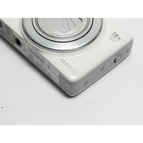 新品同様 PowerShot SX600 HS ホワイト 中古本体 安心保証 即日発送 デジカメ Canon 本体