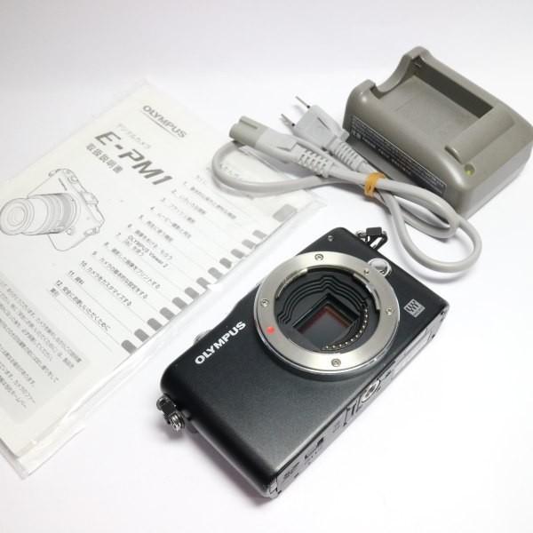 良品 E-PM1 ブラック ボディ 本体 安心保証 即日発送 OLYMPUS デジタル一眼 本体