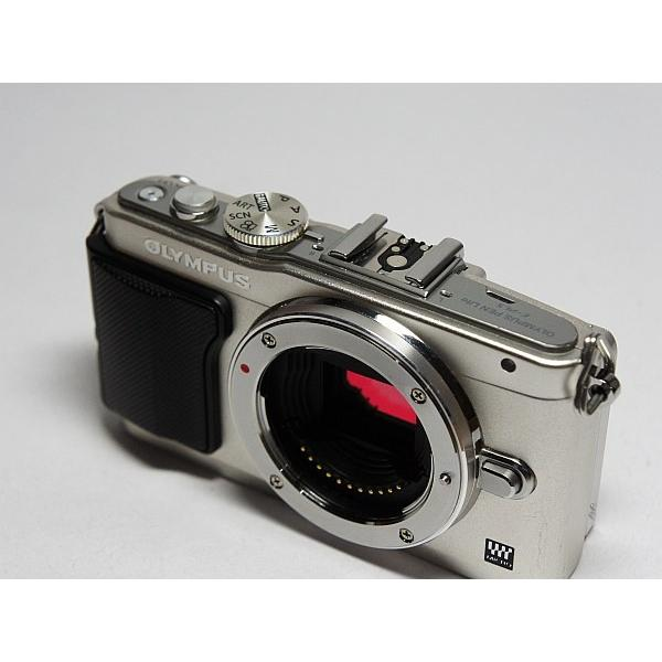 美品 E-PL5 シルバー ボディ 本体 安心保証 即日発送 デジ1 Canon デジタルカメラ 本体