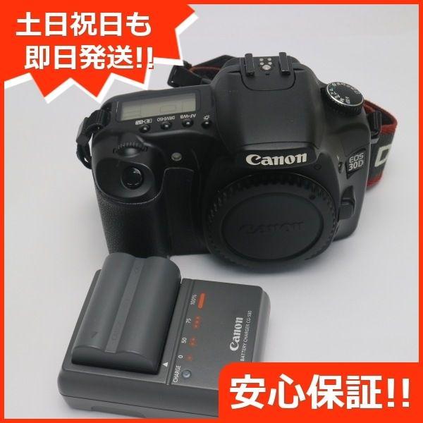 良品中古 EOS 30D ブラック ボディ 中古本体 安心保証 即日発送 デジ1 Canon デジタルカメラ 本体