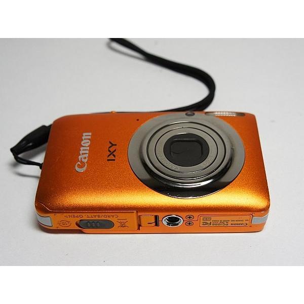美品 IXY 210F オレンジ 中古本体 安心保証 即日発送 Canon デジカメ デジタルカメラ 本体