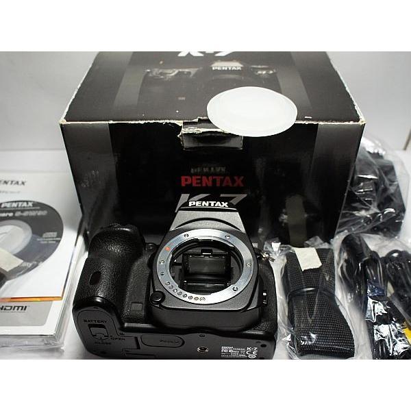美品 PENTAX K-7 ブラック 中古本体 安心保証 即日発送 PENTAX デジタル一眼 本体