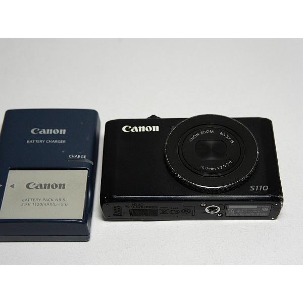 良品中古 PowerShot S110 ブラック 中古本体 安心保証 即日発送 デジカメ Canon デジタルカメラ 本体