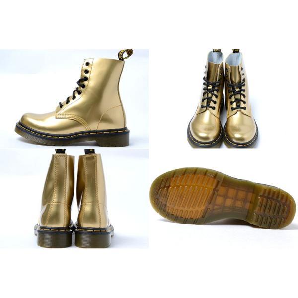 Dr.Martens PASCAL 8HOLE BOOT GOLD ドクターマーチン パスカル 8ホール ブーツ ゴールド