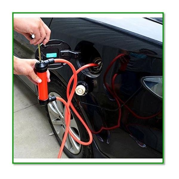 手動式簡易オイル交換ポンプ オイルチェンジャー 車 バイク メンテナンス ガソリン灯油 給油 5L min 1561 eco2 02