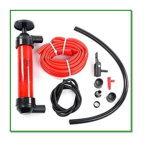 手動式簡易オイル交換ポンプ オイルチェンジャー 車 バイク メンテナンス ガソリン灯油 給油 5L min 1561 eco2 03