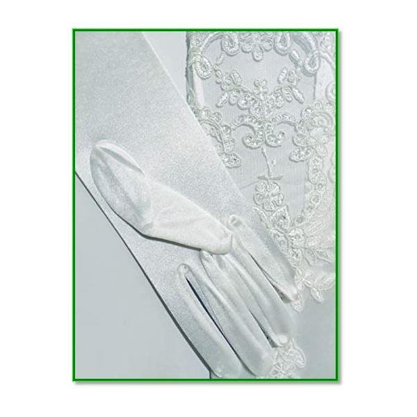 ウェディンググローブ ブライダルグローブ ネイル 手袋 ロングストレッチ ブライダル手袋 花嫁用品 1978