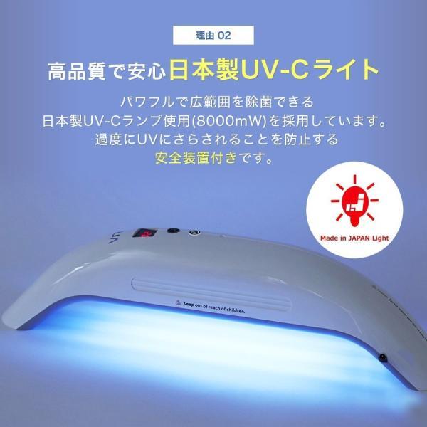 【7月15日発送】Vray 紫外線UV-Cブルーライト家庭用殺菌器 99.9%の除菌力 ecodevice 06