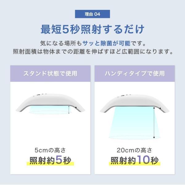 【7月15日発送】Vray 紫外線UV-Cブルーライト家庭用殺菌器 99.9%の除菌力 ecodevice 09