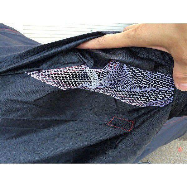 バイクカバー  溶けない 6Lサイズ 撥水防水加工 厚手 耐熱 高級|ecofuture|04