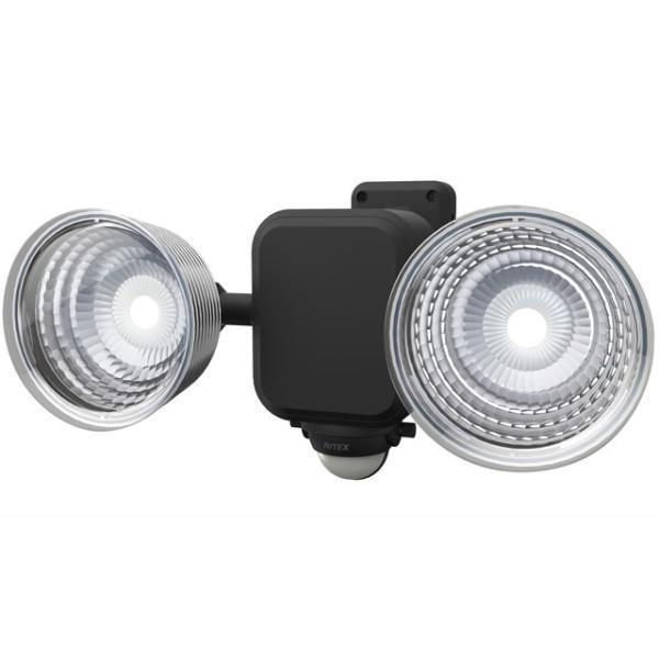 ライテックス LEDセンサーライト 乾電池式 LED-265