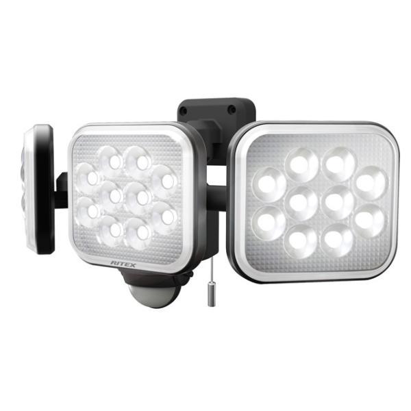 ライテックス LEDセンサーライト コンセント式 LED-AC3036